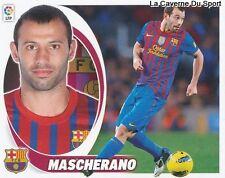 06 MASCHERANO ARGENTINA FC. BARCELONA STICKER CROMO LIGA 2013 PANINI