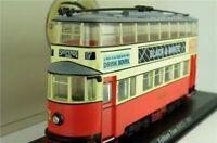 METROPOLITAN FELTHAM TRAM LONDON BUS MODEL 1:76 SIZE RED CORGI OOC 4648102