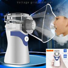 Portable Handheld Ultrasonic Mini Nebulize Inhaler Machine Children Adult Kids
