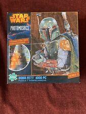 Star Wars Boba Fett Photomosaics 1000 pc Puzzle Series 3 NEW