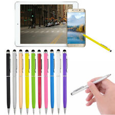 10x 2in1 Touch Screen Stylus + Ballpoint Pen For iphone Smartphone Tablet Pc Usa