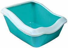 Cleany Deep Cat Litter Tray Extra Deep Tray Keeps Floor Free of Litter TX40374