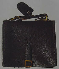 In The Past Toys 1/6 scale leather Black Generals brief case