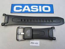 Genuine Casio Pro Trek PRG-40 PRG-240 watch band strap black resin rubber