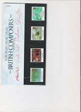 1985 ROYAL MAIL PRESENTATION PACK EUROPEAN MUSIC YEAR MINT GB STAMPS
