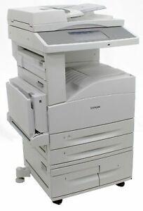 Lexmark X864de Drucker DIN A3 Kopierer Scanner Fax nur 50.000 Seiten gedruckt
