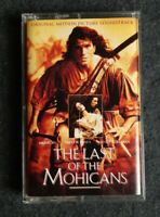 The Last of the Mohicans Original Picture Soundtrack by Trevor Jones - Cassette