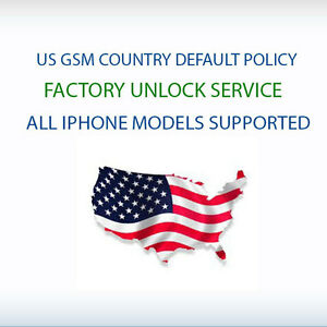 US GSM Country & Default Policy Factory Unlock iPhone 7/ 7+/ 8/ 8+/ X / XS / XR