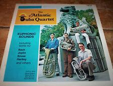 THE ATLANTIC TUBA QUARTET euphonic sounds RARE 1978 Golden Crest LP # CRS 4173