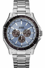 NEW GUESS W0479G2,Men's Dress,Multi-function,BRAND NEW WITH TAG AND GUESS BOX