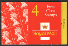 HB8 1995 Walsall 4 x 1st Classe Barcode livret-complet