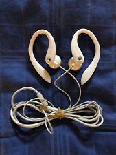 White Philips Model #SHS3201 Earphone Headset - Tested Working