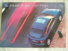 Renault megane coupé brochure fév 1996
