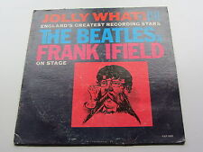 JOLLY WHAT THE BEATLES &  FRANK IFIELD ON STAGE ORIGINAL 1964 USA  VEE JAY PRESS