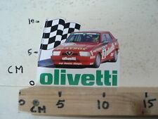 STICKER,DECAL OLIVETTI PLAYBOY ALFA ROMEO NO2 RACECAR WEPI DIENSTEN EIBERGEN