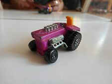 Matchbox Superfast Mod Tractor in Purple