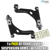 VAUXHALL ASTRA H WISHBONES MK5 LOWER SUSPENSION ARMS X 2 FRONT WISHBONE PAIR