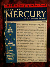 AMERICAN MERCURY November 1959 R E Troper James Scales Cedric A. Larson