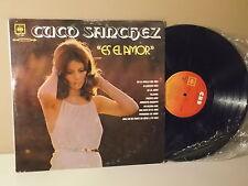 CUCO SANCHEZ | Es el amor |  En la orilla del mar | LP VG+ CBS/DCS888