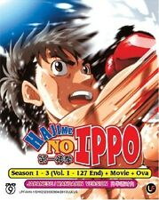 Hajime No Ippo Season 1 - 3 + Movie + Ova Complete Series DVD Box Set - OFFER