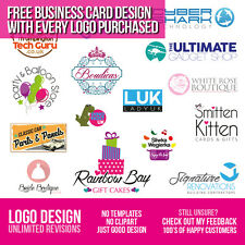 LOGO DESIGN - UNLIMITED REVISIONS - BESPOKE SERVICE -