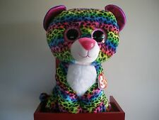 Ty Beanie Boos DOTTY the leopard 17 inch NWMT.LARGE 40cm.FREE POST IN AUSTRALIA