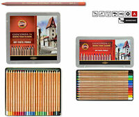 SOFT PASTEL PENCIL SET KOH-I-NOOR GIOCONDA 48PCS ARTIST DRAWING CRAYON 8829 8828