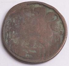 1603 - 1605 1 Duit Copper Coin Holland Hollandia Netherlands Lion in Garden