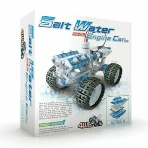 Construct and Create Salt Water Fuel Cell Engine Car educational toy
