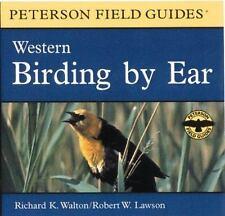 Birding by Ear: Western North America Peterson Field Guide Audios