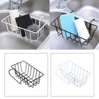 1pc Kitchen Sink Caddy Sponge Soap Drainer Holder Basket Drying Rack Organizer