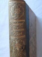 Brachvogel - Friedmann Bach - Buch in altdeutscher Schrift - wohl 1920er J  /S42