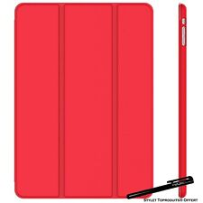 Coque Smart Rouge pour Apple iPad Air / Air 2 Etui Folio Ultra fin