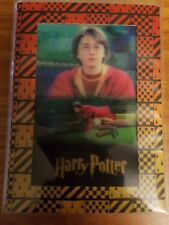 Artbox Harry Potter 3D  #BT3 At Quidditch Closeup and Flying to left Box Topper