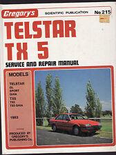FORD TELSTAR TX 5 SERVICE & REPAIR WORKSHOP MANUAL  1983