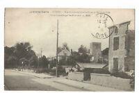 51  SUIPPES  RUE BUIRETTE GAULARD ET PLACE DE L HOTEL DE VILLE  GUERRE 1914