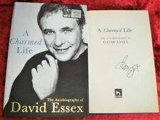 HAND-SIGNED by DAVID ESSEX - A CHARMED LIFE - 1st/1st - 2002