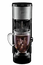 Chefman Coffee Maker K-Cup VersaBrew Brewer Black & Stainless Steel RJ14-SKG U