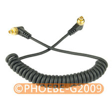 Male M-M FLASH PC Sync Cable for Fujifilm S2 S3 S5 Pro