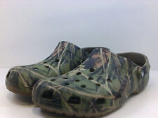 Crocs Men's Shoes v4b6go Slippers, Dark Green, Size 12.0 yuv2