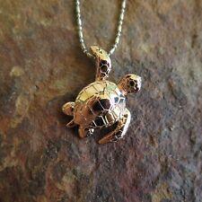 Hawaiian Jewelry Waving Copper Turtle Pendant SP94209