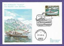 Schiffspost-Österreich-3 Belege-Gmunden--Ebensee-