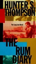 THE RUM DIARY : A Novel by Hunter S. Thompson : 1998 1st (First) Edition