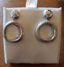 Marco Bicego Jaipur 18k white gold diamond earrings