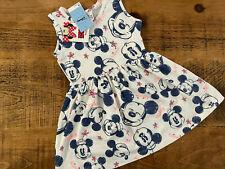 Baby Girl 9-12 months BNWT NEW Disney Matalan Minnie Mouse Sleeveless Dress