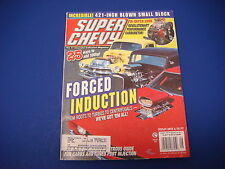 Super Chevy Magazine, August 1977, Forced Induction, Performance Carburetor