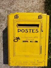 boite lettres poste PTT briefkasten facteur vintage industriel letter box 1956
