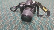 Nikon D90 12.3MP Digital SLR Camera - Black (VR 18-105 mm Lens) - FAST FREE SHIP