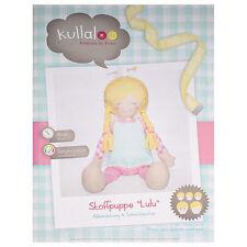 """Kullaloo Stoffpuppe """"Lulu"""" & Kleid (Nähanleitung & Schnittmuster) #14433"""