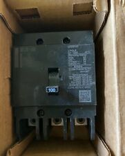 Eaton Ghb3100 Bolt-On Mount Type Ghb Molded Case Circuit Breaker 3-Pole 100 Amp